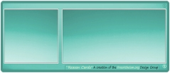 Reason Card Sky teal side by side