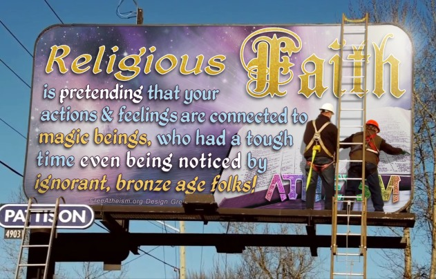 Religious Faith Billboard