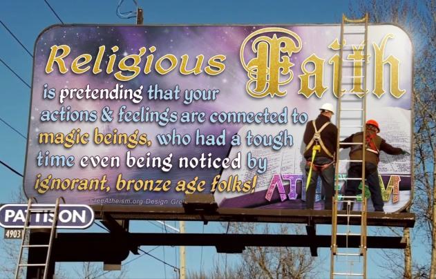 Religious Faith Billboard