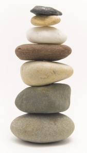 Stacked Rocks - for Stepping Stone post - Karlene Jacobsen - Joy's blog post - NOV 20