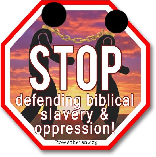 STOP defending slavery copy