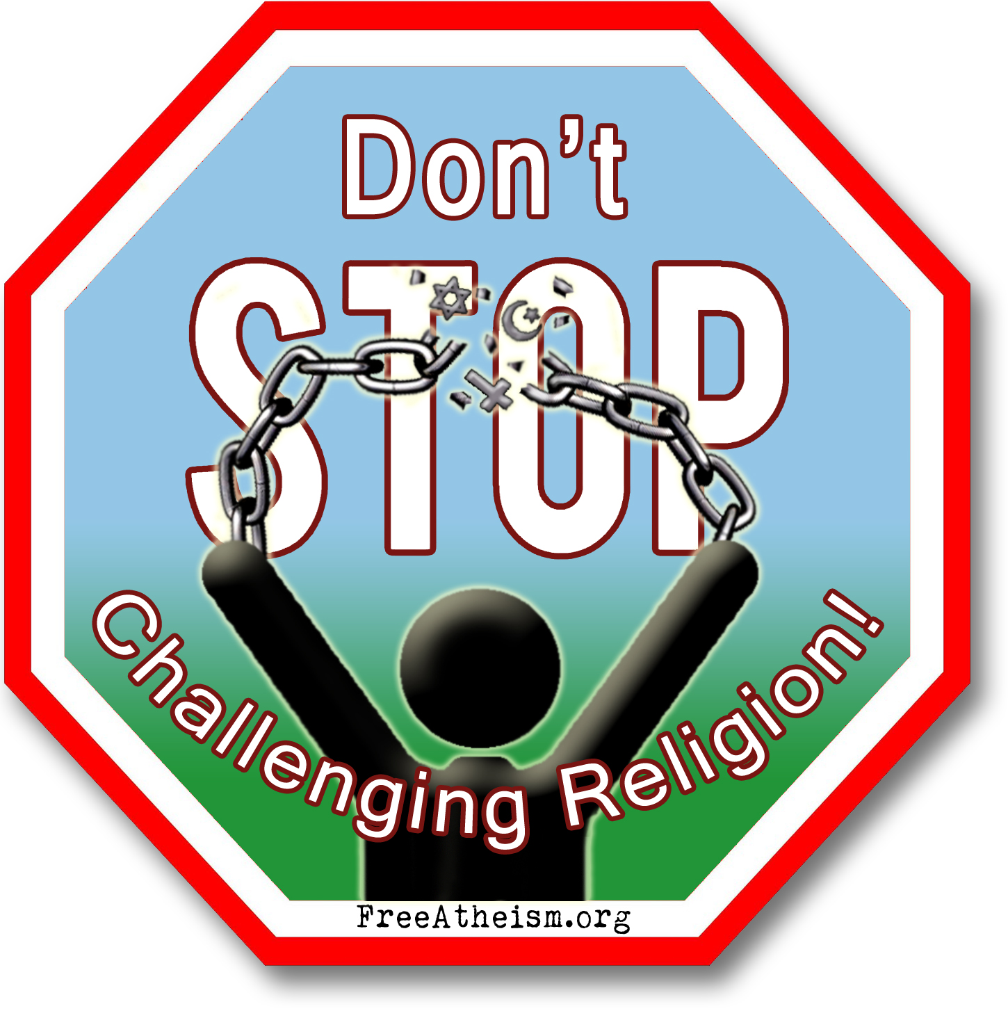 atheist stop patches