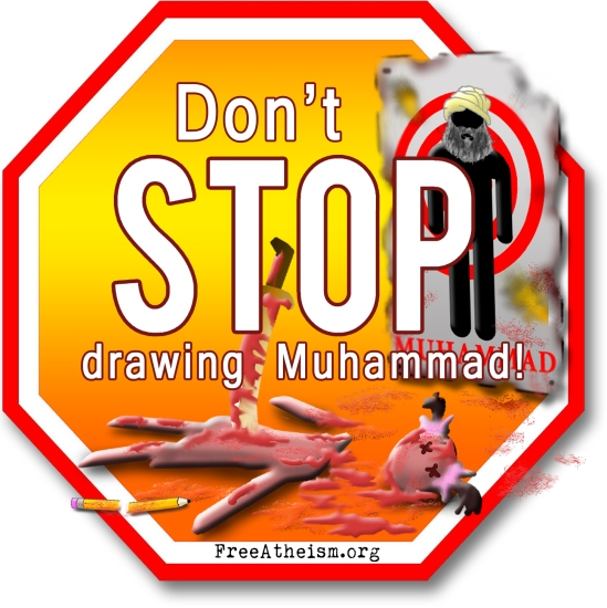 STOP DONT stop drawing muhammad copy