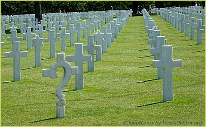 crosses cemetery doubt copy