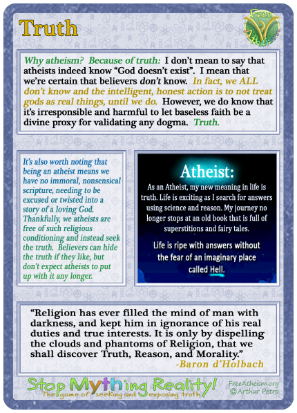 atheism truth copy