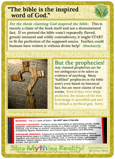 God inspired bible copy