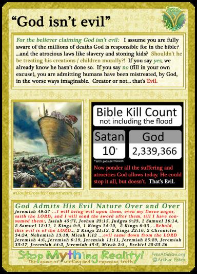 God is evil copy