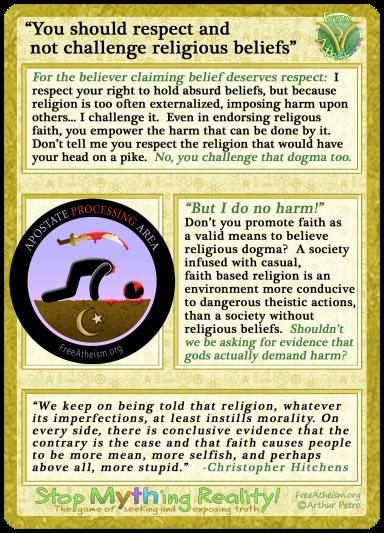 respect religious beliefs copy