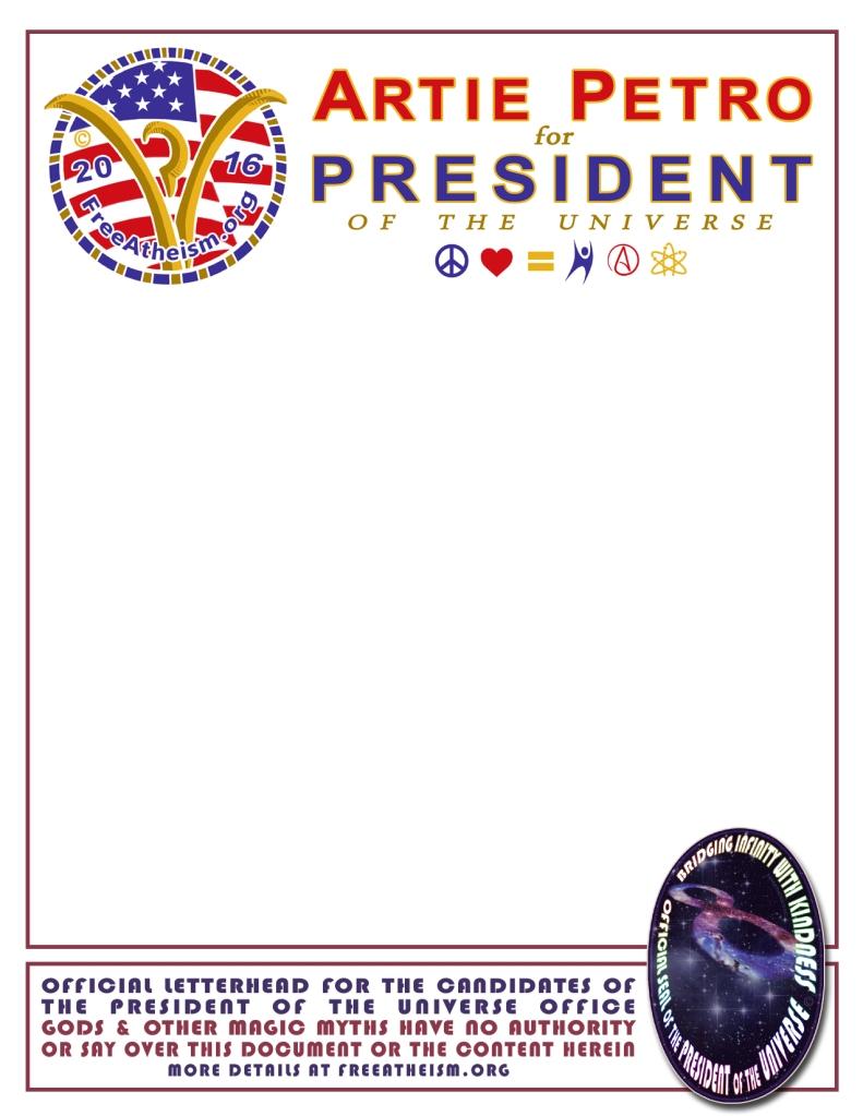 official seal letterhead for ARTIE copy