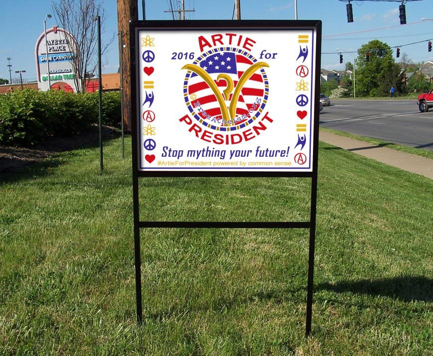 Yard sign black rim sml copy