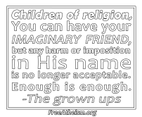 Imaginary Friend white