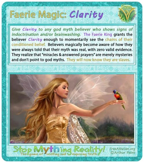 faerie magic Clarity