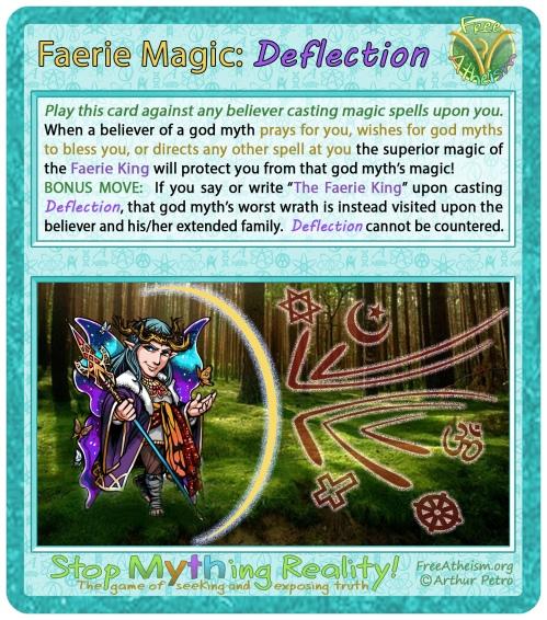 Faerie magic deflection