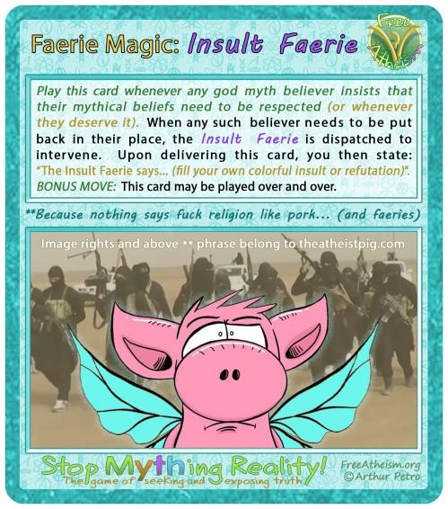 faerie magic Insult Faerie