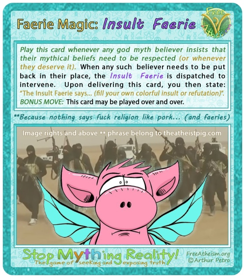 faerie magic Insult Faerie