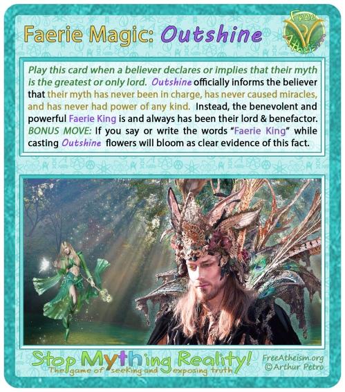 faerie magic Outshine
