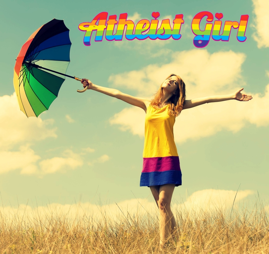 atheist girl freedom